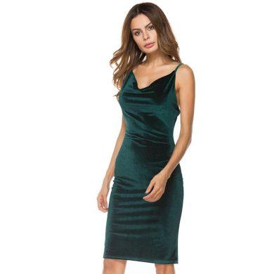 Dámské koktejlové šaty FashionEU