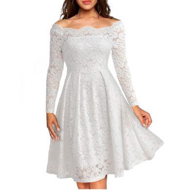 Společenské šaty krajkové FashionEU