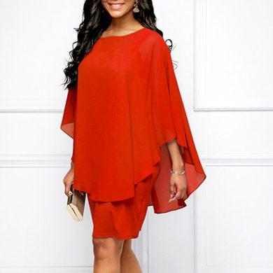 Společenské dámské mini šaty FashionEU