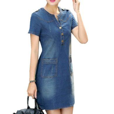 Dámské džínové šaty Irma FashionEU