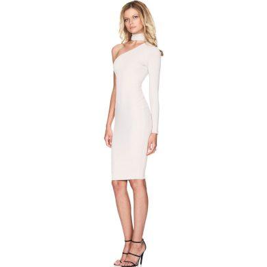 Společenské šaty na jedno rameno FashionEU