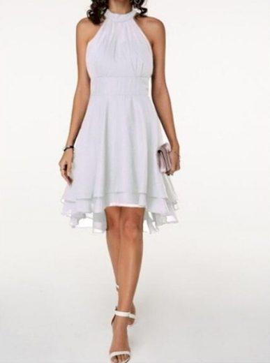 Společenské šaty kolem krku FashionEU