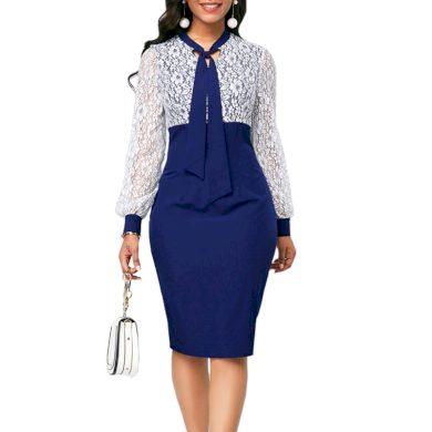 Společenské šaty pouzdrové FashionEU