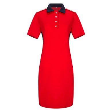 Tričkové šaty plus size FashionEU