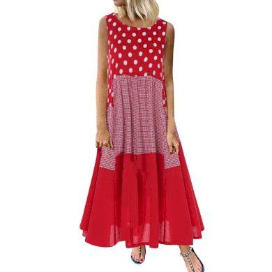 Letní šaty plus size FashionEU