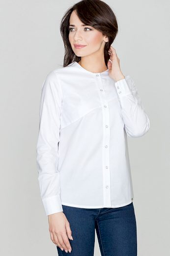 Ženská košile bez límce K391 LENITIF