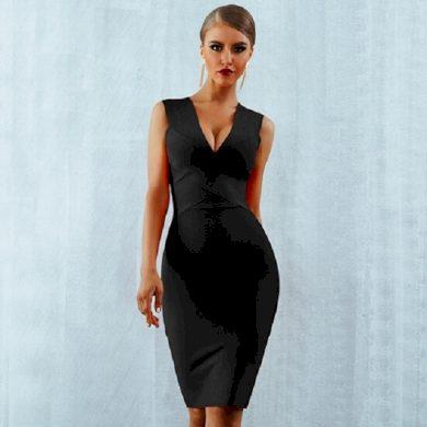 Elegantní dámské pouzdrové šaty A2504 FashionEU