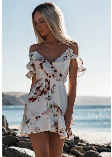 Dámské letní mini šaty A728 FashionEU