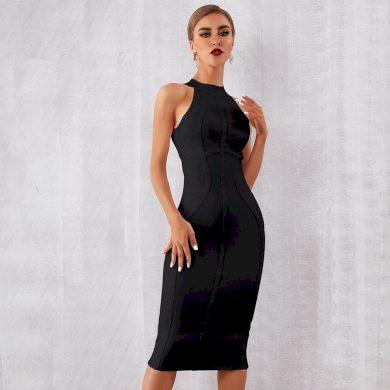 Elegantní pouzdrové šaty FashionEU