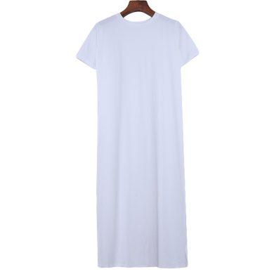 Tričkové maxi šaty FashionEU