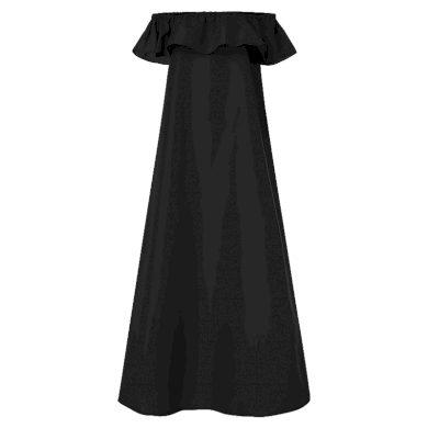 Letní maxi šaty se spadlými rameny FashionEU