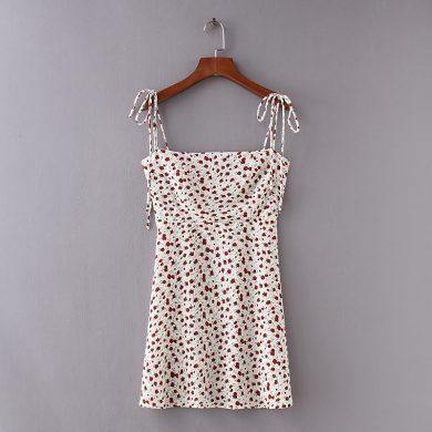 Romantické mini šaty FashionEU
