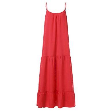 Letní maxi šaty nadměrné velikosti FashionEU