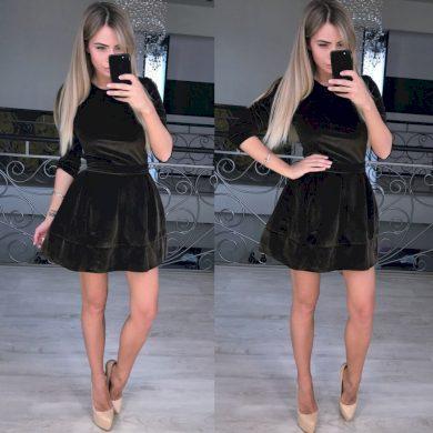 Luxusní mini šaty FashionEU