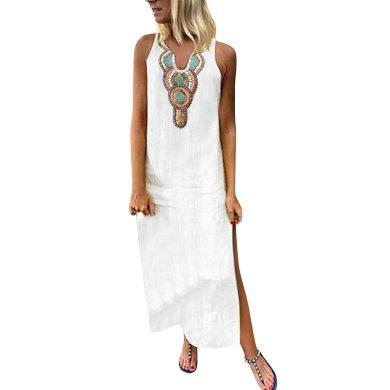 Dámské maxi šaty A1 FashionEU