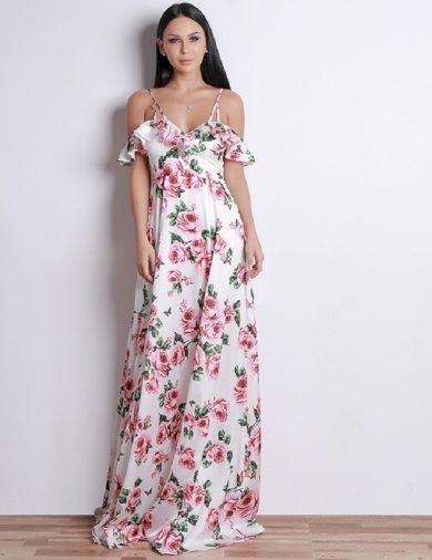Luxusní dlouhé šaty FashionEU
