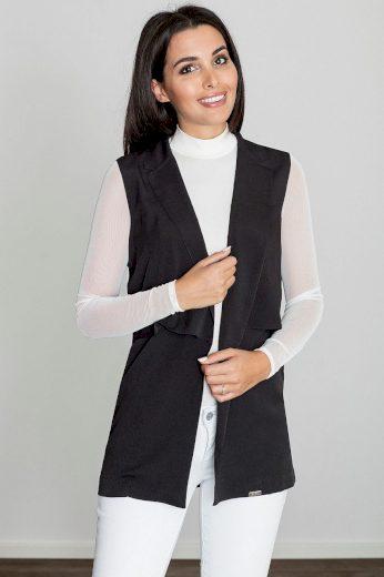 Lehká, dlouhá vesta s límcem M560 FIGL