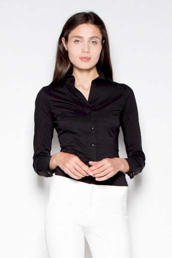 Elegantní košile s výstřihem VT028 VENATION