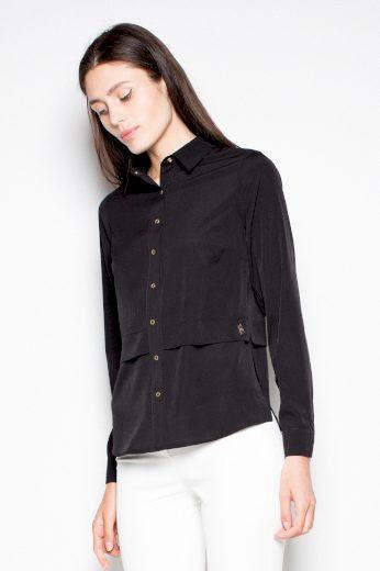 Elegantní košile s bočními rozparky VT027 VENATION