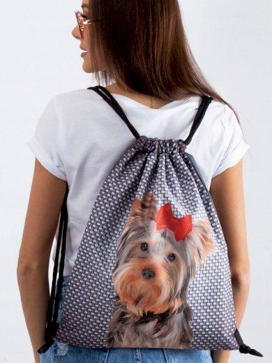 Sportovní taška textilní batoh s potiskem Lorenti