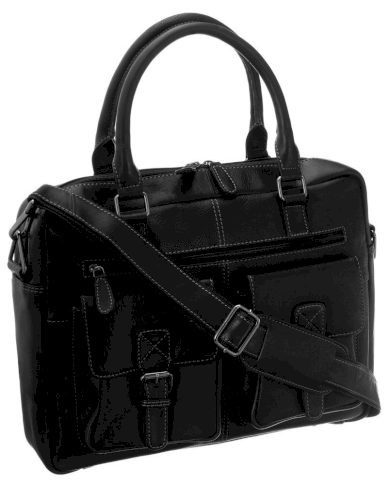 Pánská a dámská kožená taška na notebook Badura