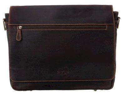 Pánská kožená taška na notebook listonoška Badura