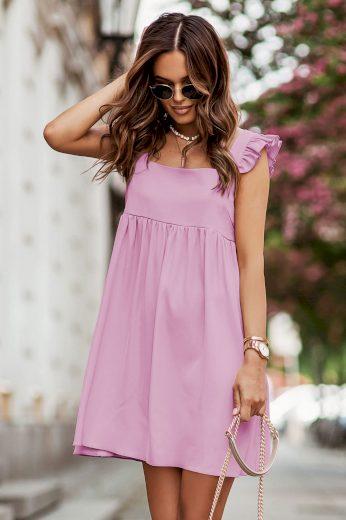 Dívčí mini šaty mírně nadměrného střihu NOEL IVON