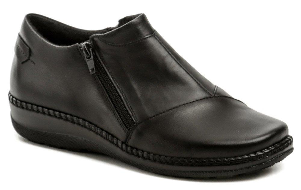 Axel AXBW068 černé dámské polobotky boty šíře H EUR 38