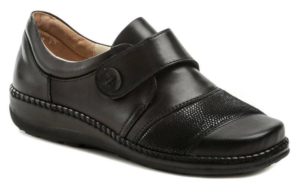 Axel AXCW132 černé dámské polobotky boty šíře H EUR 37