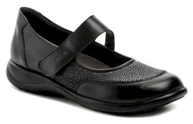 Axel AXCW062 černé dámské polobotky boty šíře H EUR 38