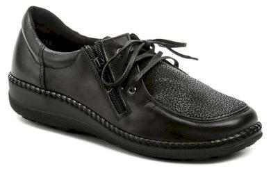 Axel AXCW129 černé dámské zdravotní polobotky boty šíře H EUR 40