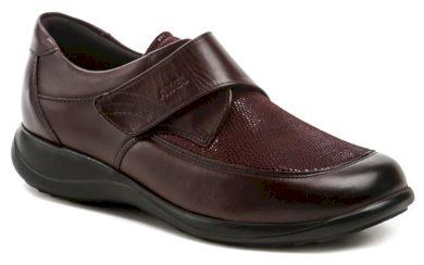 Axel AXCW010 vínové dámské polobotky boty šíře H EUR 37