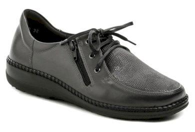 Axel AXCW129 šedé dámské zdravotní polobotky boty šíře H EUR 38