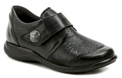 Axel AXCW128 černé dámské polobotky boty šíře H EUR 43