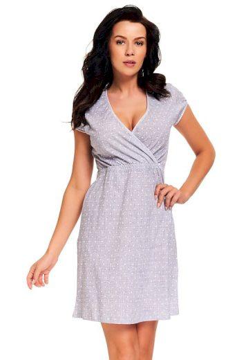 Těhotenská a kojicí noční košile Amoresa srdíčka