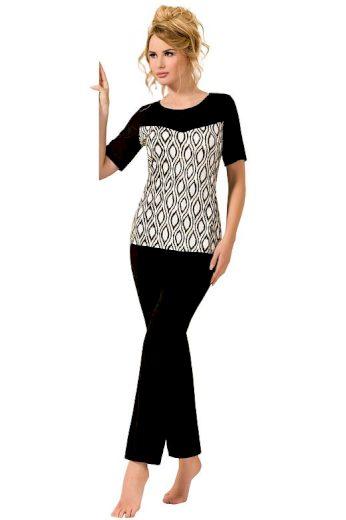 Luxusní černé pyžamo Isabel