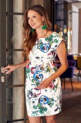 Mateřské šaty Mojry květiny