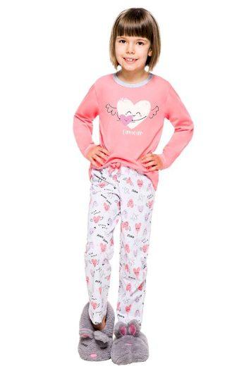 Dětské pyžamo Maja růžové
