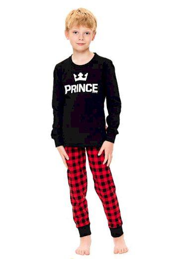 Chlapecké pyžamo Prince černé