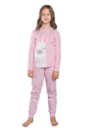 Dívčí pyžamo Peru růžové