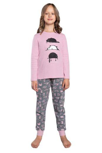 Dívčí pyžamo Dima růžové
