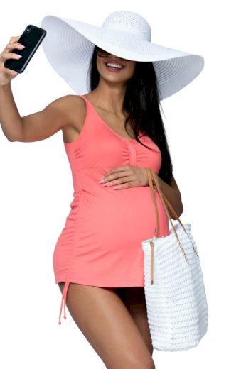 Těhotenské tankiny Susanne oranžové