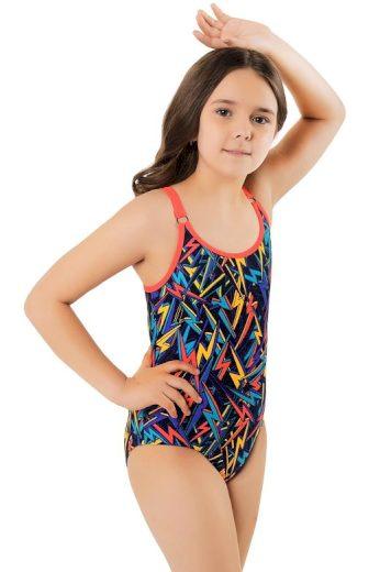 Dívčí jednodílné plavky  Vendulka barevné