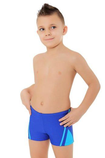 Chlapecké boxerkové plavky Ben modré