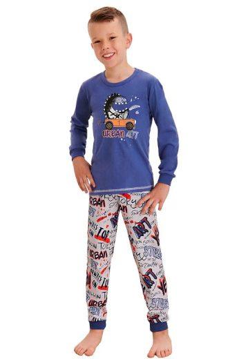 Klučičí pyžamo Miloš street modré