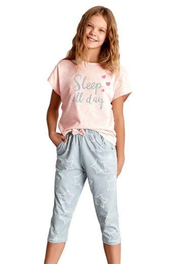Dívčí pyžamo Etna růžové