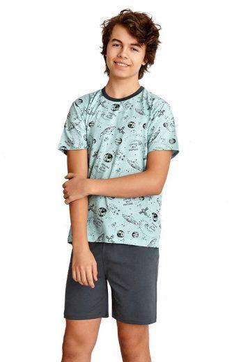 Chlapecké pyžamo Max modré vesmír
