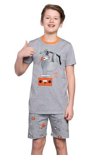 Chlapecké pyžamo Bafi šedé