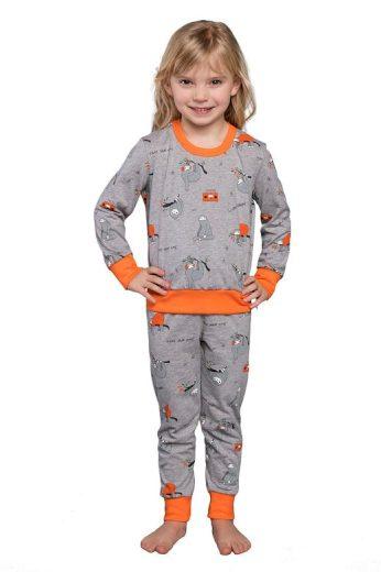 Dětské pyžamo Orso šedé