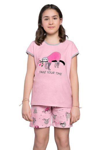 Dívčí pyžamo Lalima růžové